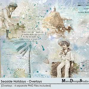 Seaside Holidays - Overlays