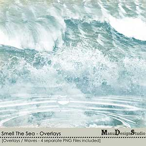 Smell The Sea - Overlays