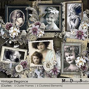 Vintage Elegance - Clusters