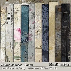 Vintage Elegance - Papers