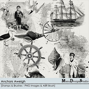 Anchors Aweigh - Stamps