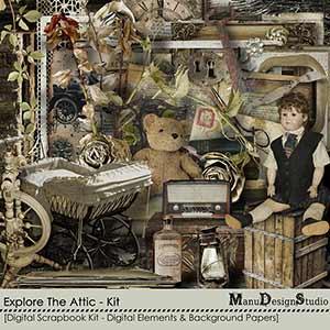Explore The Attic - Kit