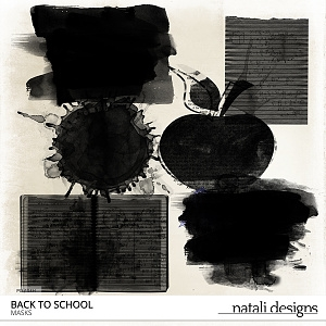 Back to school Clipping Masks