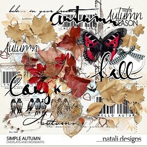 Simple Autumn Overlays