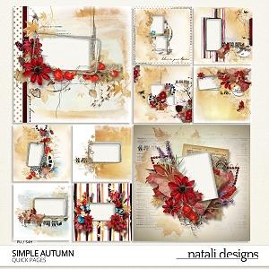 Simple Autumn Quick Pages