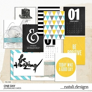One Day Journaling Cards