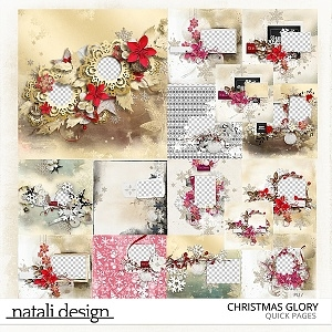 Christmas Glory Quick Pages