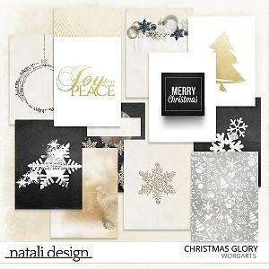 Christmas Glory Journal Cards