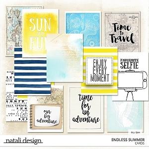 Endless Summer Journaling Cards