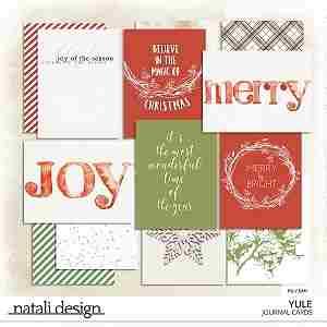 Yule Journal Cards
