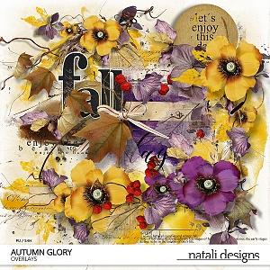 Autumn Glory Overlays