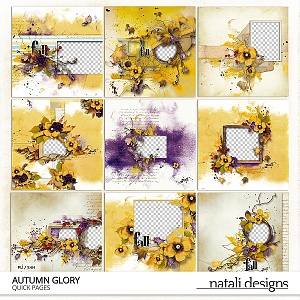 Autumn Glory Quick Pages