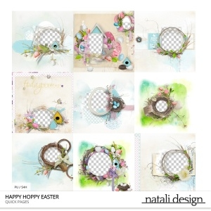 Happy Hoppy Easter Quick Pages