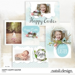 Happy Hoppy Easter Cards