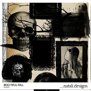 Boo-tiful fall Clipping Masks