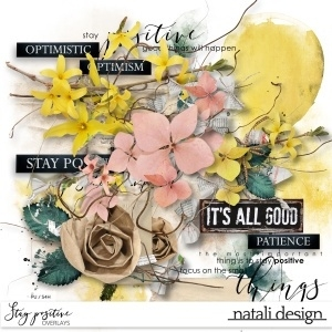 Stay positive Overlays