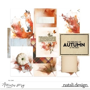 Autumn story Cards
