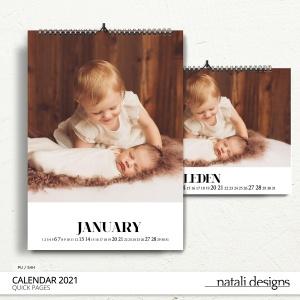 2021 Calendar Simple