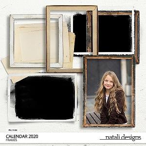 2020 Calendar Frames