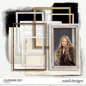 2021 Calendar Frames