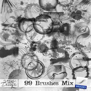 99 Brush Mix