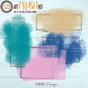 artCRUSH No7  {Out of the Box Frames}