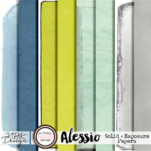 Alessio {Solid + Exposure Papers}