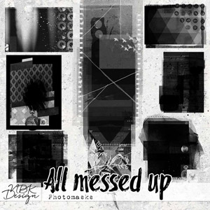 All messed up {Photo-Masks}