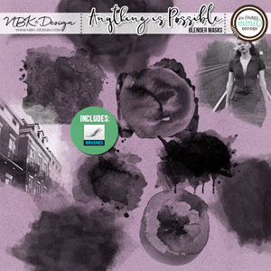 Anything is Possible {Blender-Masks – Brushes & Stamps}