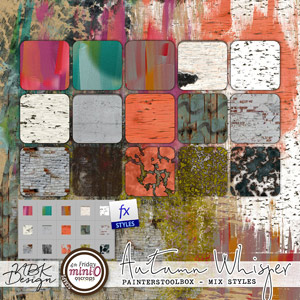 Autumn Whispers {Painters Toolbox - Mix of Styles}