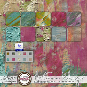 Autumn Whispers {Painters Toolbox - Heavy Paint Styles}