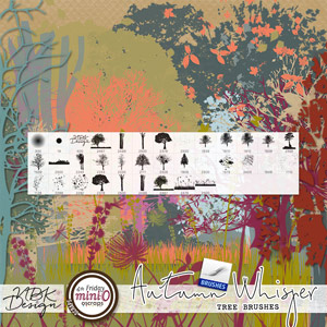 Autumn Whispers {Painters Toolbox - Tree Brushes}