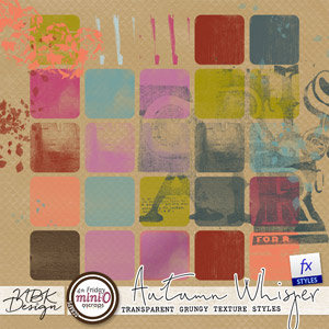 Autumn Whispers {Painters Toolbox - Transparent Grungy Styles}
