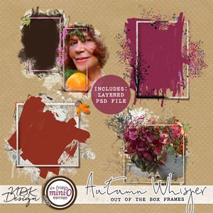 Autumn Whispers {Out of the Box Frames}