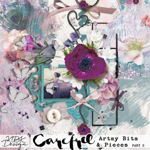 Carefree {Artsy Bits & Pieces No2}