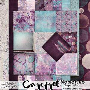Carefree {Paper-Set: Mixed-Media}