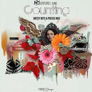 Counting {Artsy Bits & Pieces No2}