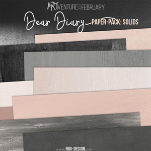 Dear Diary {Paperset: Solids}
