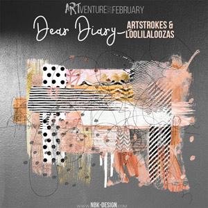 Dear Diary {artStrokes + Loopilaloozas}