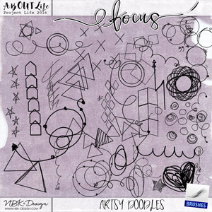 FOCUS {Artsy Doodles}