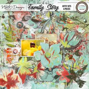Family Story {Artsy Bits & Pieces No1}