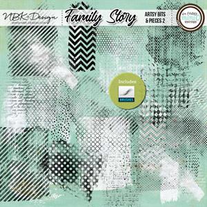 Family Story {Artsy Bits & Pieces No2}