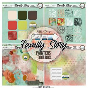 Family Story {Painters-Toolbox: Mini-Bundle}
