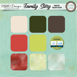 Family Story {Painters-Toolbox: Colors}
