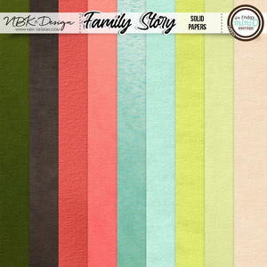 Family Story {Papers-Solids}