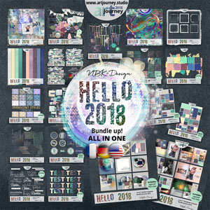 Hello 2018 {Bundle up! All in One}
