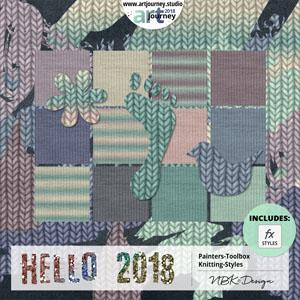Hello 2018 {Painters-Toolbox: Knittin'-Styles}