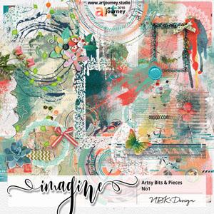 IMAGINE {Artsy Bits & Pieces No.1}