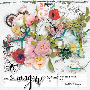 IMAGINE {Artsy Bits & Pieces No.2}