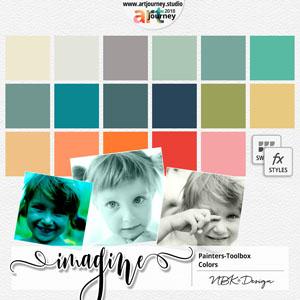IMAGINE {Painters-Toolbox: Colors}